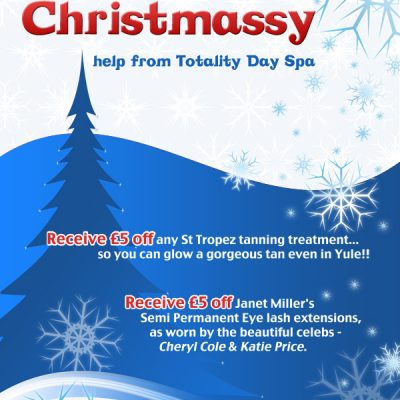 Day Spa Christmas Poster