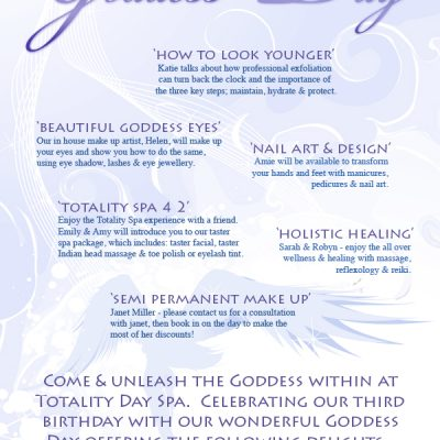 Day Spa Goddess Day Poster