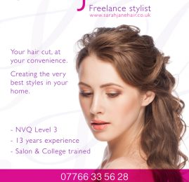 Aylesbury Hairdresser Flyer