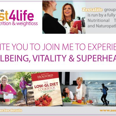 Zest Nutrition Flyer